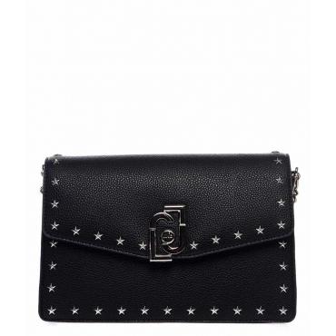 Bauletto con borchie stelle nero