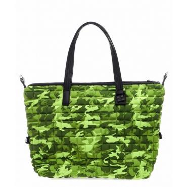 Shopper Zipper Big verde