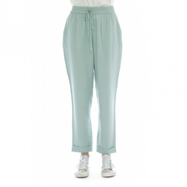Pantalone donna - Biem pantalone banda AZZURRO