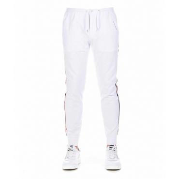 Pantalone jogging bianco