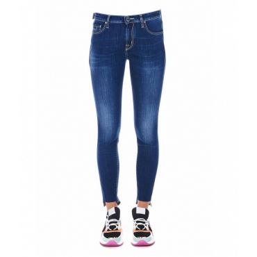 Jeans Kimberly Crop blu