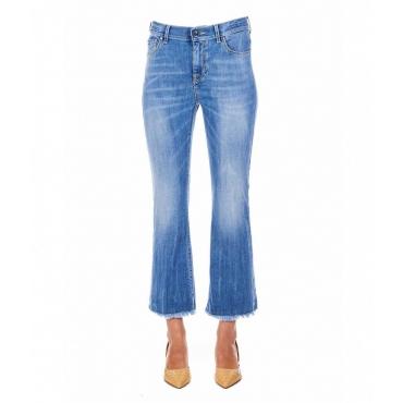 Cropped Jeans Zaira azzurro