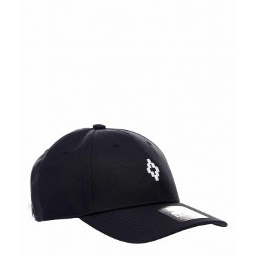 Baseball cap largo nero