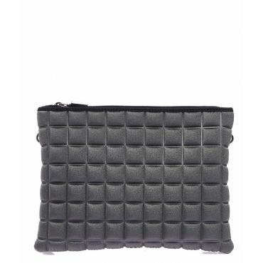 Pochette Double Maxi Cube grigio