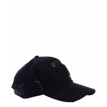 Cappello ICON con applicazioni nero