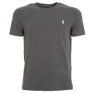 T-Shirt grigio melange in cotone FORTRESSGREY