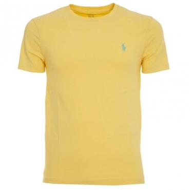 T-Shirt gialla in cotone con logo EMPIREYELLOW