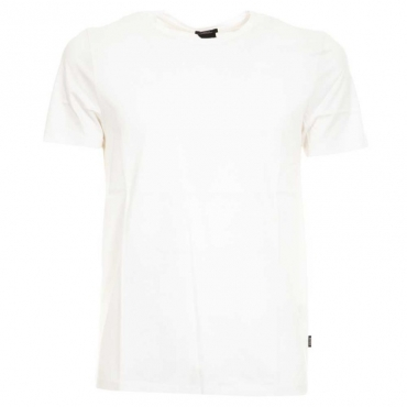 T-shirt slim fit tinta unita 100WHITE