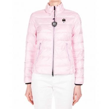 Piumino rosa
