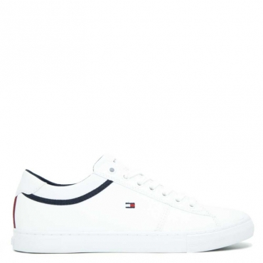 Sneakers In cuoio New York BIANCO