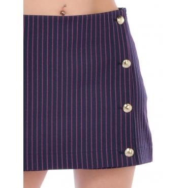 Patrizia Pepe Pantalone Fashion Donna Blu