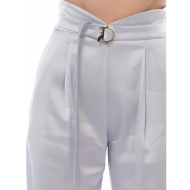 Patrizia Pepe Pantalone Fashion Donna Grigio