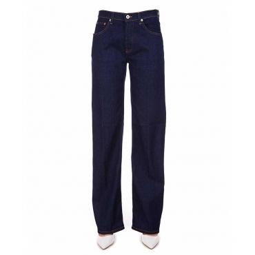 Oversize Jeans blu