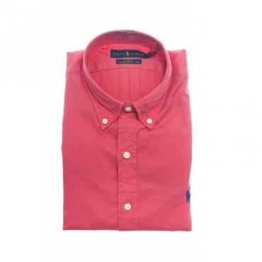 Camicia uomo - 787192 camicia chino ROSSO CHIARO