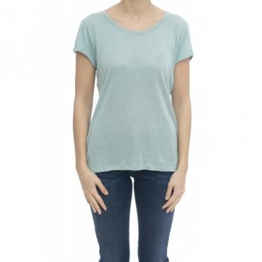 T-shirt donna - Delisti t-shirt lino 72233 - Avio