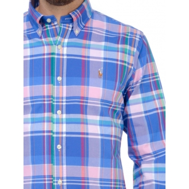 Ralph Lauren Camicia Uomo Blu