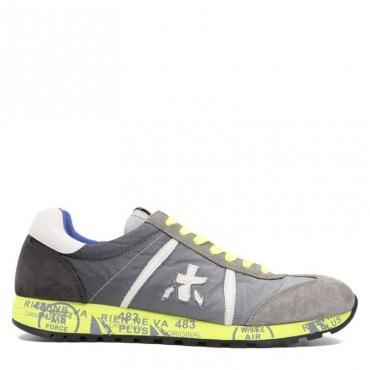 PREMIATA Sneakers Lucy 1313 in camoscio grigio 1313E