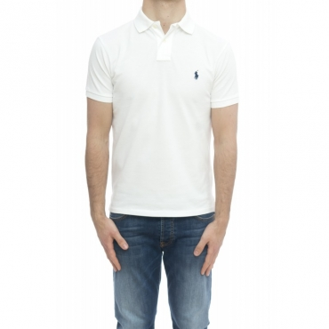 Polo - 548797 slim 001 - bianco