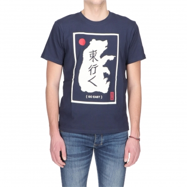 T-SHIRT EASTERN BEAR ELEMENT INDIGO