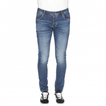 JEANS SCOTT TIMEZONE sea blue aged wash