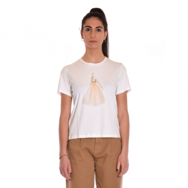 T-shirt bambola tulle BIANCO