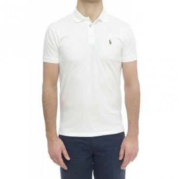 Polo - 685514 pima cotton 001 - bianco