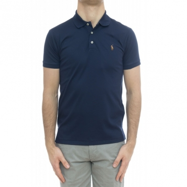 Polo - 685514 pima cotton 003 - Blu