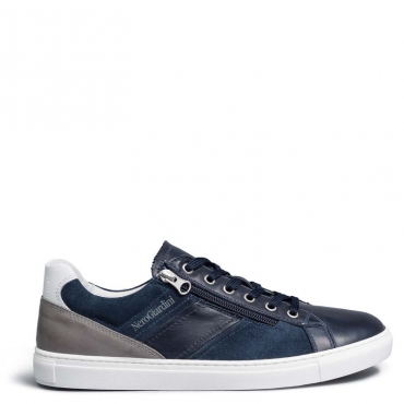 Sneakers Sauvage scamosciate con zip 200