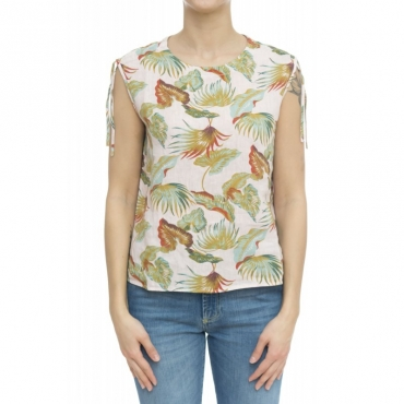 Camicia donna - Eliana 5290 camicia stampa W2194