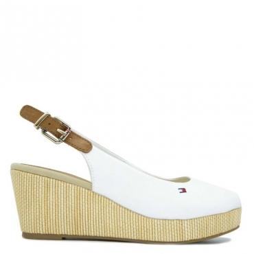 Sandalo con zeppa sling back wedge BIANCOELBA