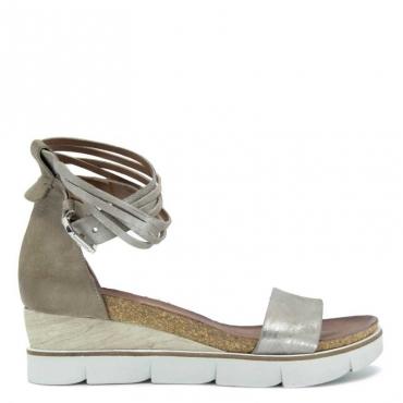 Sandalo Sasso con gancetto alla caviglia SASSO/OPALE/