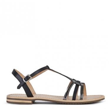 Sandalo Sozy con decorazione frontale C9B1GBLACK/G