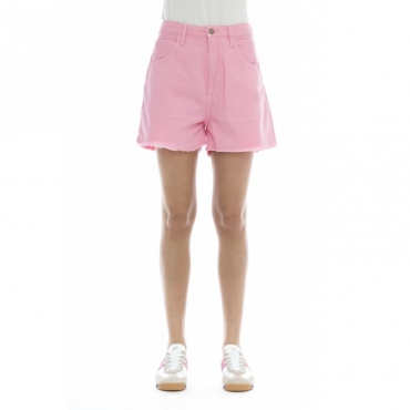 Bermuda donna - Short girlfrend bull Pink
