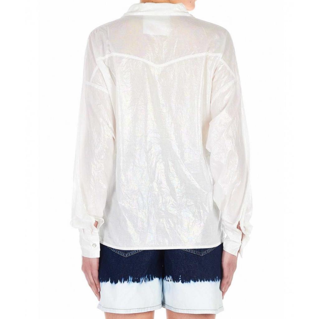 Blusa brillante Ischia bianco