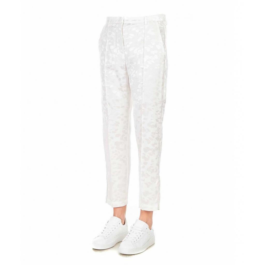 Pantaloni brillanti San Pietro bianco