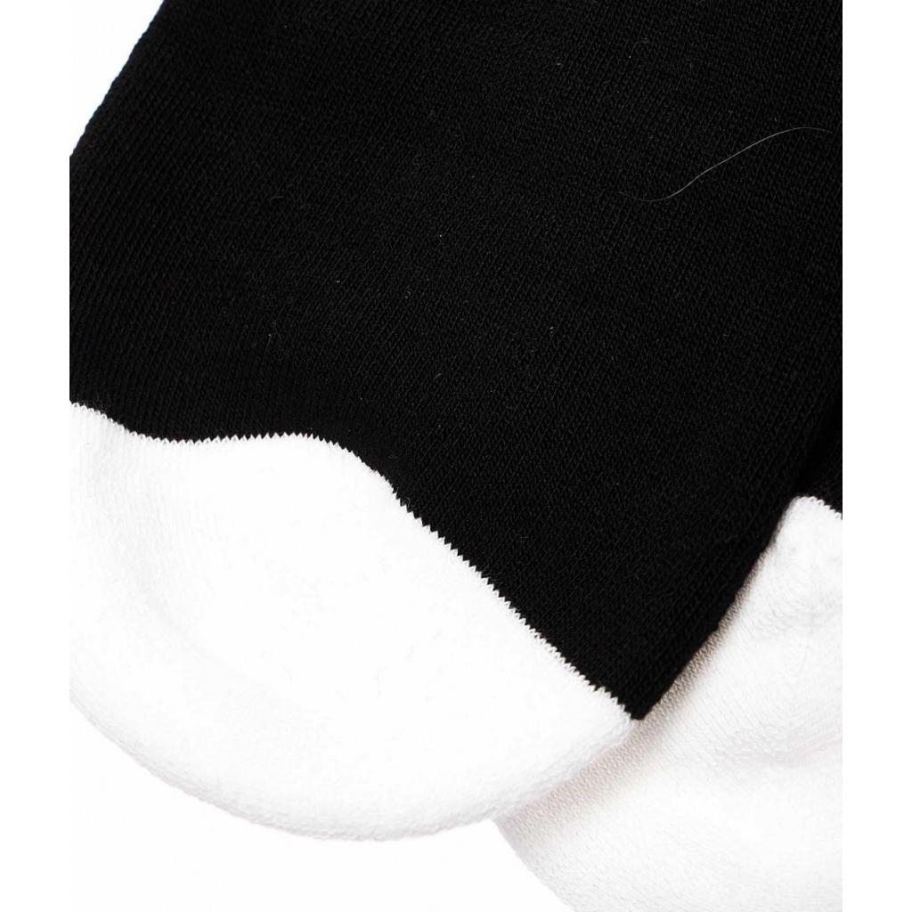Calze con scritta logo nero
