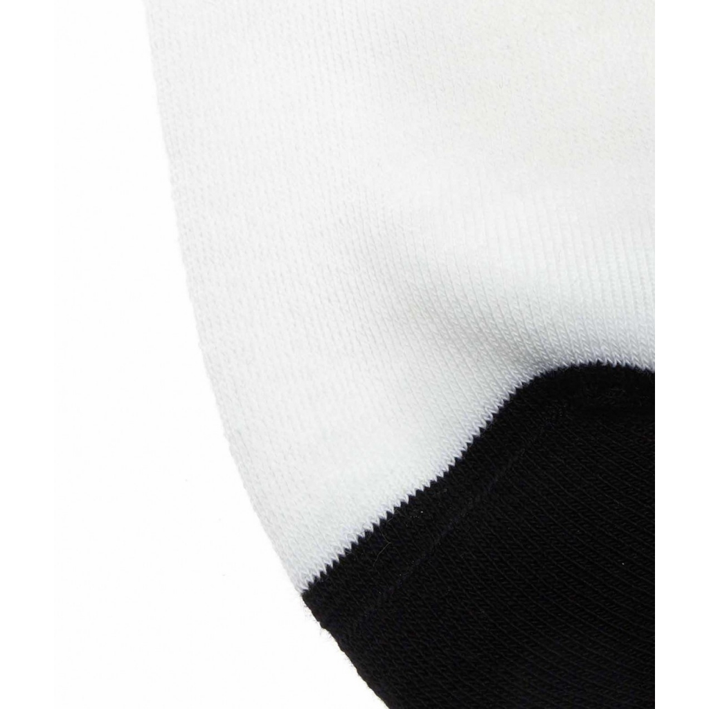 Calze con scritta logo bianco