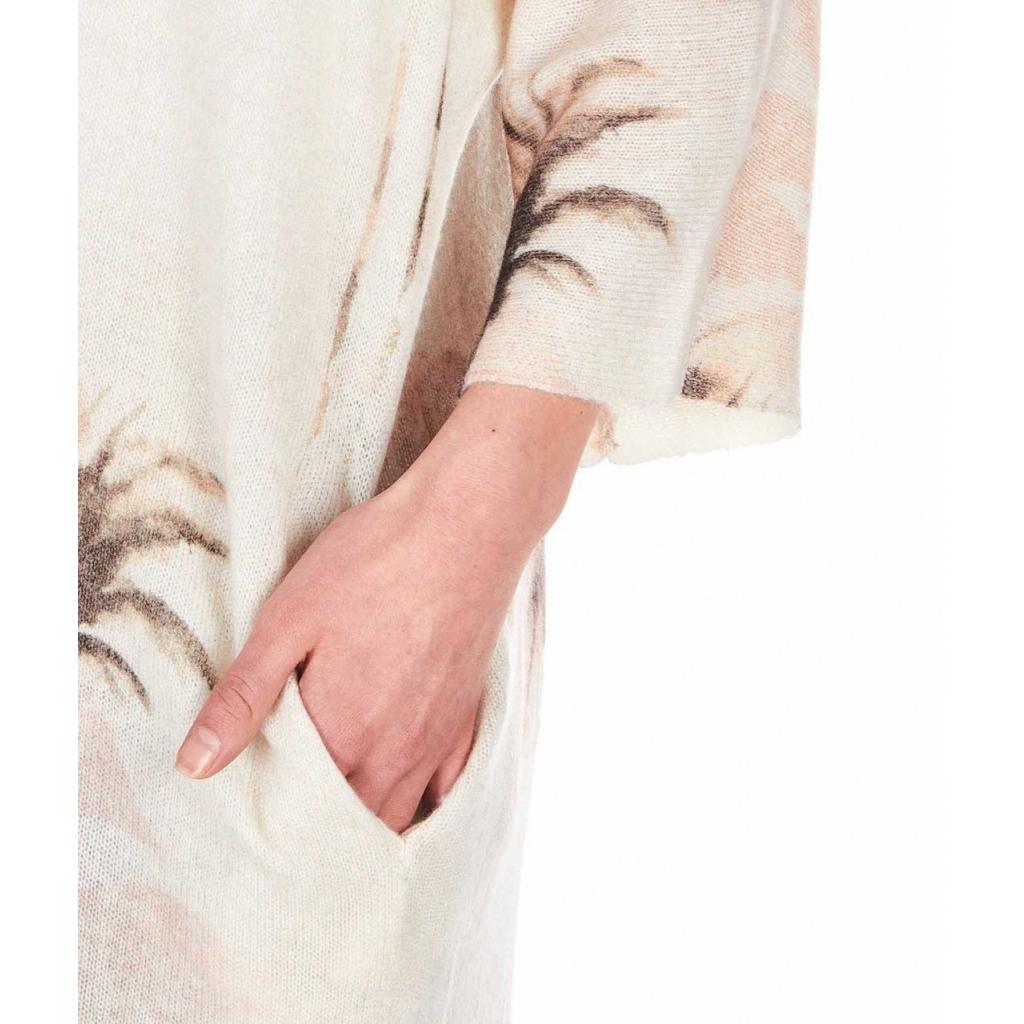 Cardigan in cachemire Arlo beige