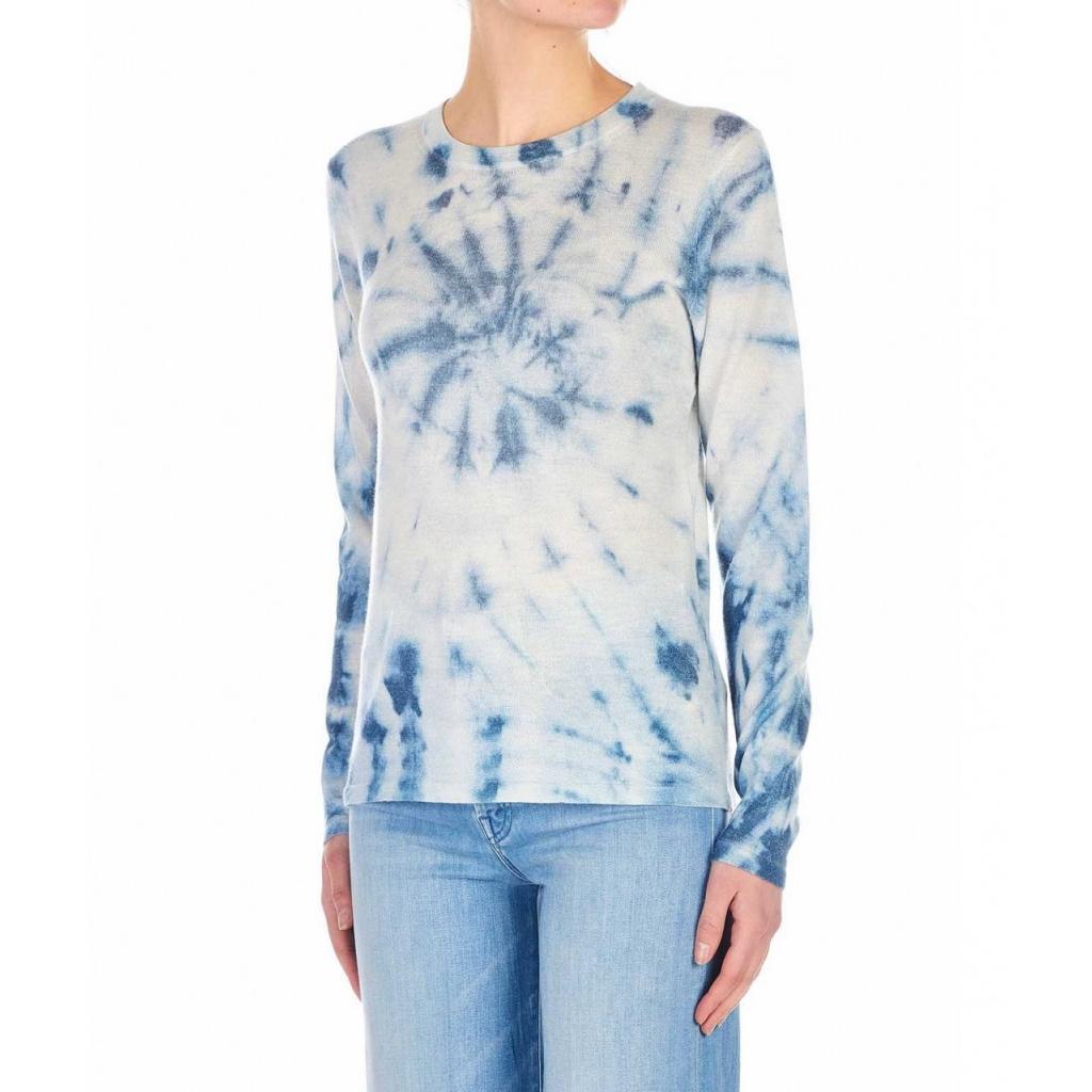 Maglia in cachemire Rye 01 blu