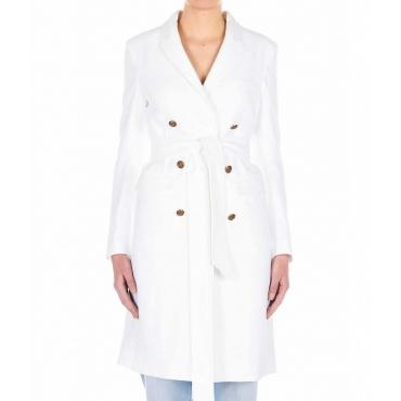 Cappotto elegante bianco