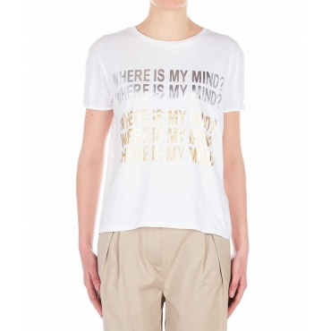 T-Shirt Erigavo bianco