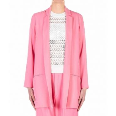 Blazer lungo pink