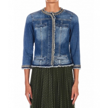 Giacca in jeans Kate blu