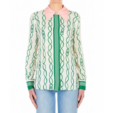 Blusa in fantasia Daily verde