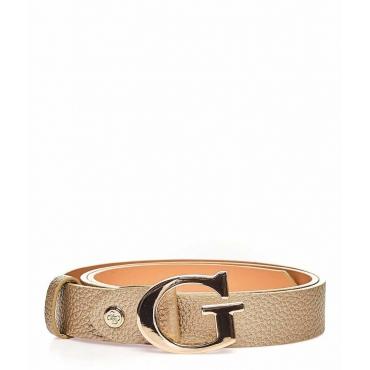 Cintura metallizzata oro