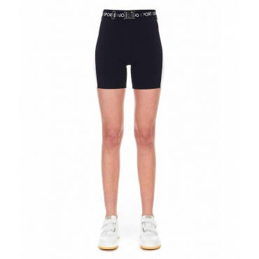 Shorts in jersey nero