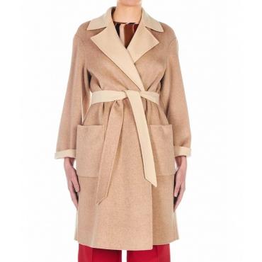 Cappotto in lana Terzo beige
