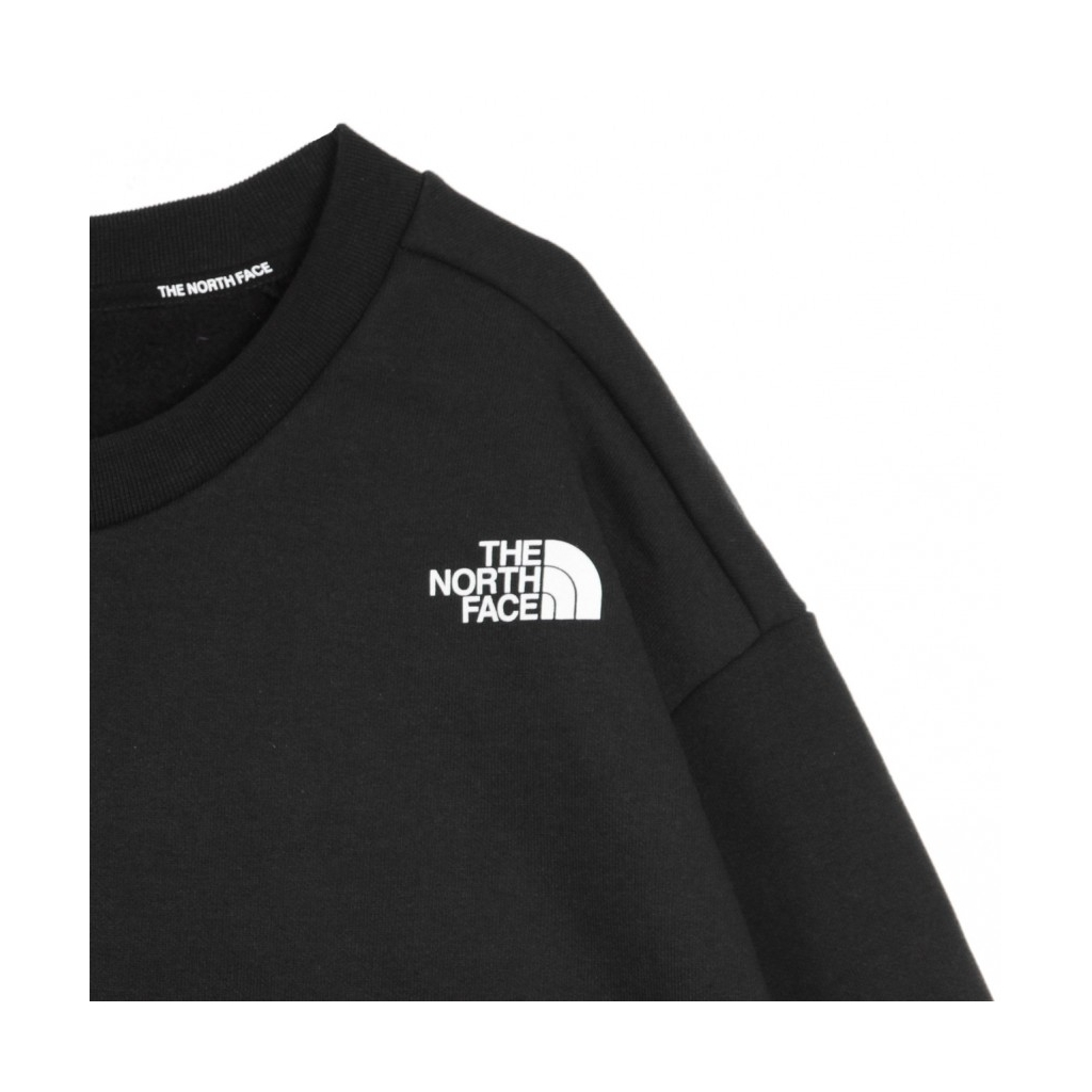 FELPA GIROCOLLO GRAPHIC L/S CREW BLACK