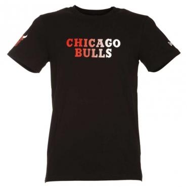 T-shirt Chicago Bulls nera BLK