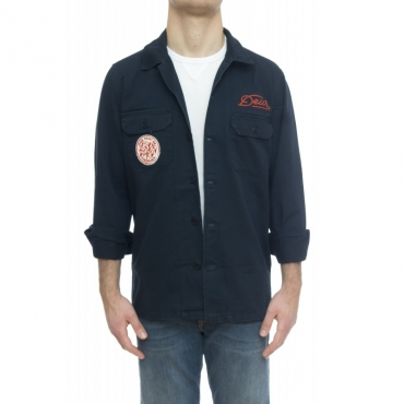 Camicia - Cam0061 over shirt patch 309 - Blu